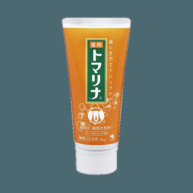商品详情 - KOBAYASHI 小林制药  呵护牙龈清新口气亮白牙膏  草本薄荷味 90g - image  0
