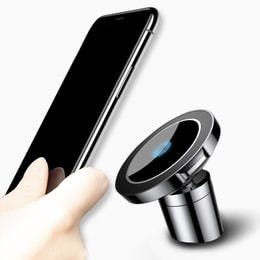 RAMBLE Car Mount Qi Wireless Charger For iPhone Xs Max X Samsung S9 Charging Magnetic Holder 1 pc
