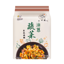 DAJIA Noodles Vegetable Two-color Noodle Oil Onion 440g