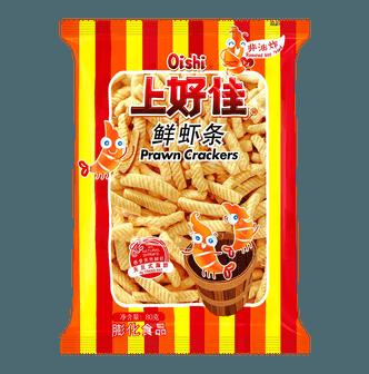 OISHI上好佳 非油炸鲜虾条 原味 80g