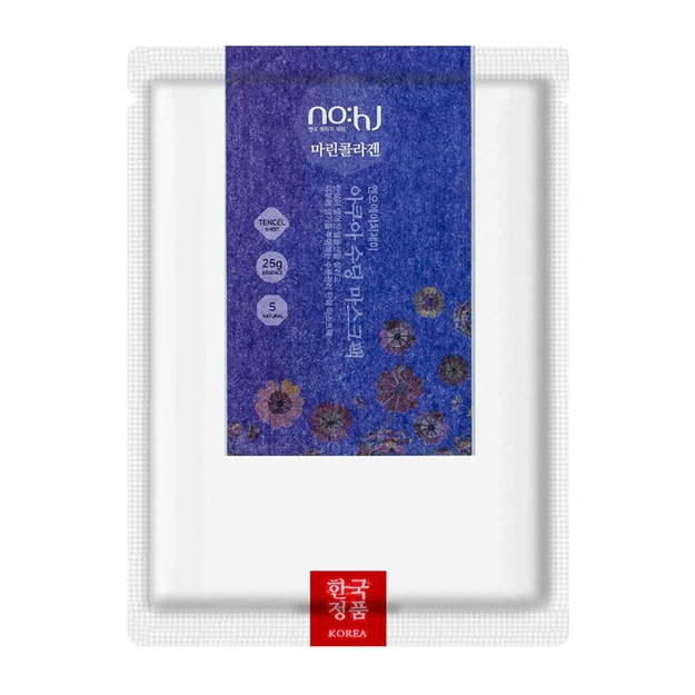 Product Detail - NO:HJ Aqua Soothing Mask - Collagen 1 Sheet - image 0