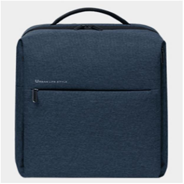 商品详情 - [中国直邮]小米 MI 极简都市双肩背包系列2 休闲包电脑包 可容纳15.6英寸电脑耐磨防水 蓝色 单个装 - image  0
