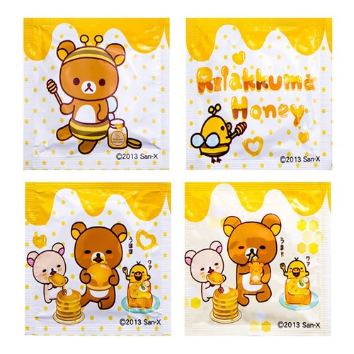 OKAMOTO Rilakkuma Meets Honey Condoms 10 Pack