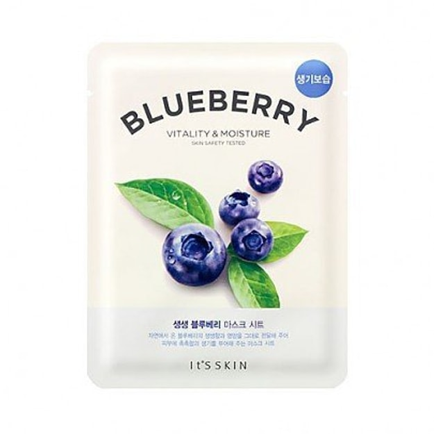 Product Detail - IT\'S SKIN Blueberry Vitality&Moisture Mask Sheet 1pc - image 0