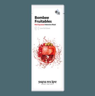 韩国PAPA RECIPE春雨 果蔬系列 红色密集补水面膜 单片入