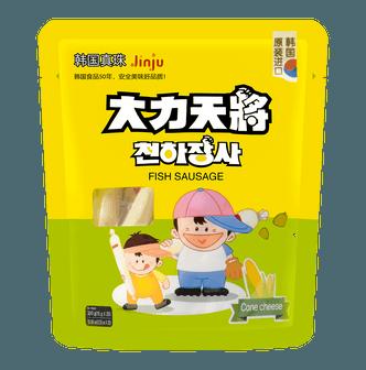 韩国大力天将 鳕鱼肠 玉米芝士味 20根入 300g