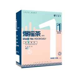 果遇茶 爆摇四季春茶 18g*5 盒装