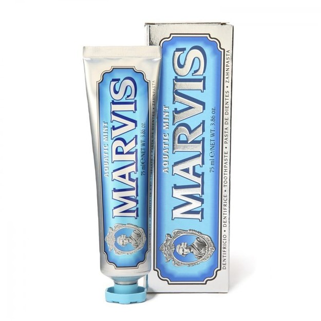 Product Detail - MARVIS Toothpaste Aquatic Mint 75ml - image 0