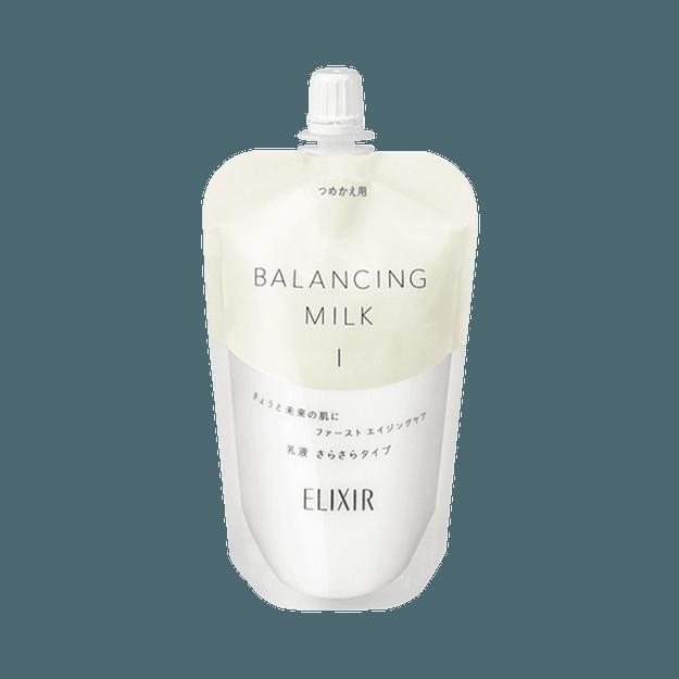 商品详情 - ELIXIR 怡丽丝尔||凝光漾采水油平衡乳液||清爽型 替换装 110mL - image  0