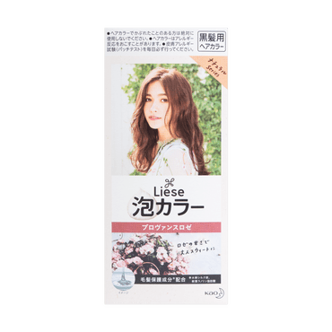 KAO LIESE PRETTIA Bubble Hair Dye Provence Rose 1set