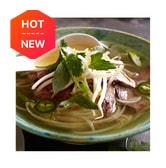LOTUS Instant Beef Broth for Vietnamese noodle Pho Gia Vi Pho Bo 75g 5 Bowls