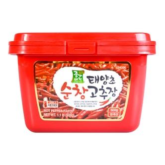 韩国JONGGA VISION 秘制石锅拌饭炒年糕辣酱 三度中辣 500g