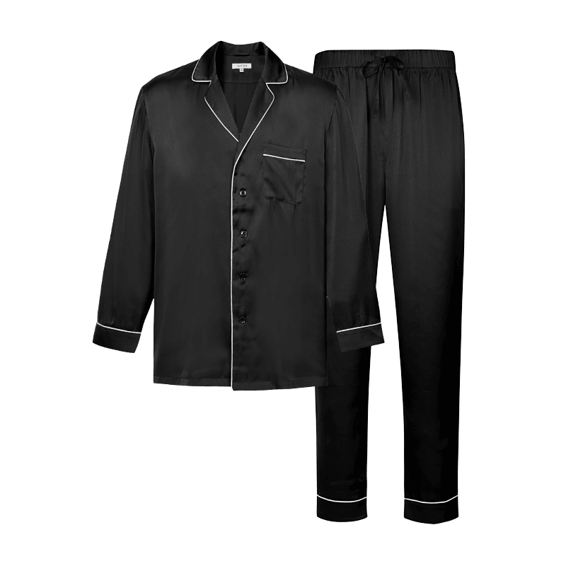Yamibuy.com:Customer reviews:LIFEASE Men's Silk Pajama Set