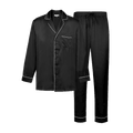 LIFEASE Men's Silk Pajama Set