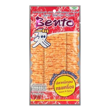 泰国BENTO 秘制湿鱿鱼干 香辣口味 20g