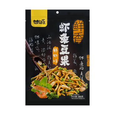 GANYUAN Shrimp Stick Beans Fresh Shrimp Flavor 285g