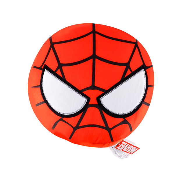 商品详情 - 名创优品MINISO 漫威可爱系列圆形抱枕,蜘蛛侠 - image  0