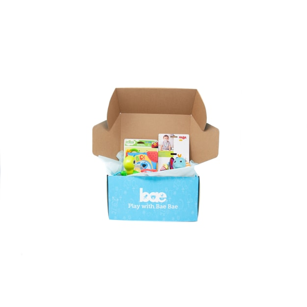 Product Detail - US Bae Bae Box 5 months baby toy box 4 pieces - image 0