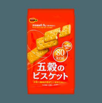 BOURBON Five Grains Biscuits Original Flavor 132g