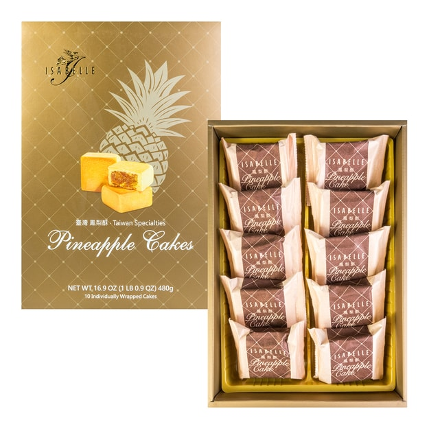 Product Detail - ISABELLE Taiwan Specialties Pineapple Cakes 480g - image 0