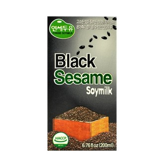 YONSEI  Black Sesame Soymilk 200ml