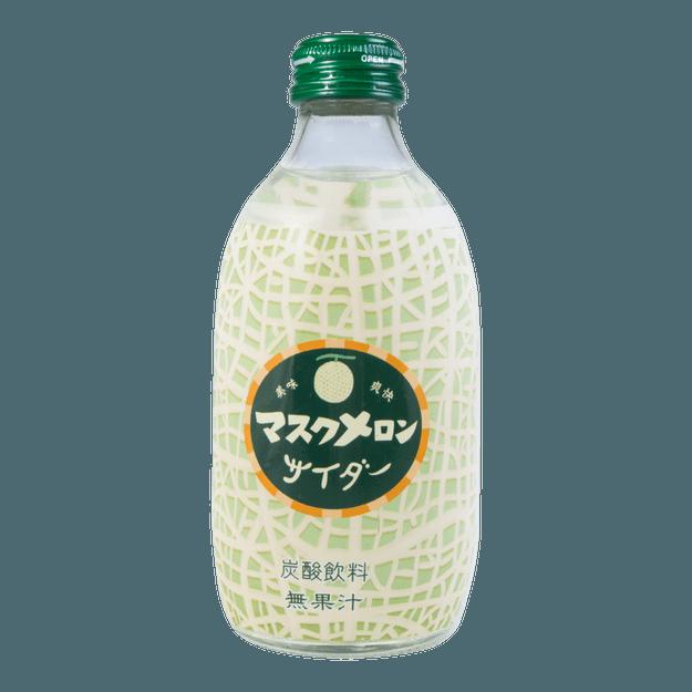 商品详情 - 日本TOMOMASU 碳酸饮料 哈密瓜味 300ml - image  0