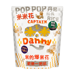 CAPTAIN DANNY Soy Sauce Seaweed Rice Popcorn 120g