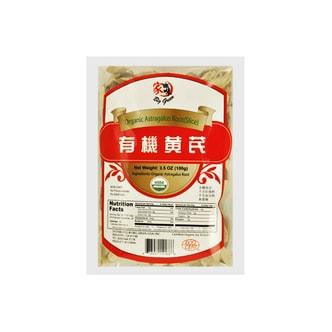 家乡味 有机黄芪 100g USDA认证
