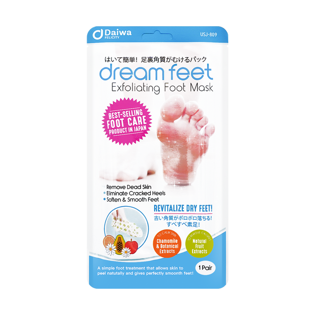 Product Detail - Dream Feet Exfoliating Foot Mask - image  0