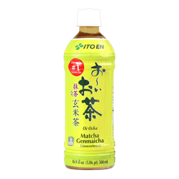 ITO EN Unsweetened Green Tea With Roasted Rice 500ml