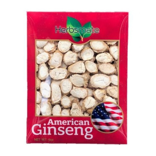 Product Detail - YONG WELL Premium American Ginseng Slice Highly Selected & Fresh Cut (4 Oz. Box) - image 0