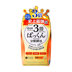 日本SVELTY丝蓓缇 3倍加强糖质分解酵母酵素 100粒