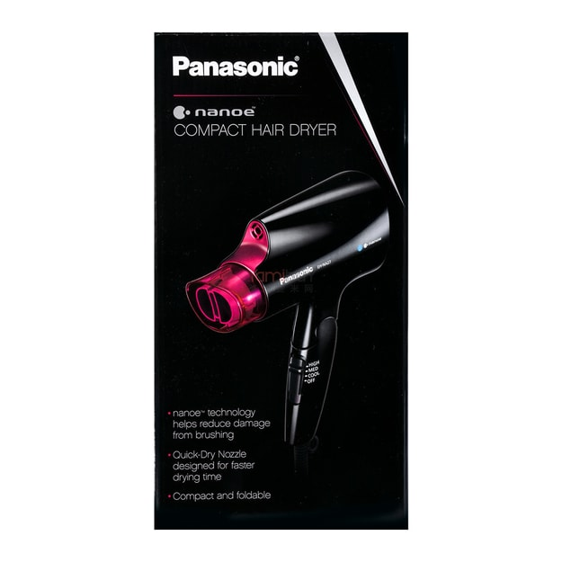 Product Detail - PANASONIC Nanoe Compact Hair Dryer EH-NA27-K @Cosme Award - image 0
