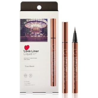 【日本直邮】日本MSH LOVE LINER 随心所欲持久不晕染极细防水眼线液笔 #TRUE BLACK纯黑 0.55ml