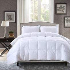 PREMIUM DOWN Hungarian White Goose-Down Comforter Full/Queen
