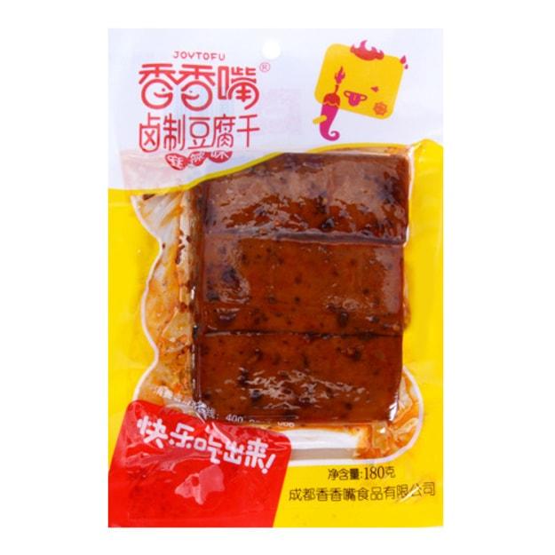 商品详情 - 香香嘴 卤制豆腐干 麻辣味 180g - image  0