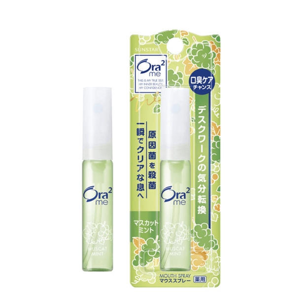Product Detail - SUNSTAR ORA2 Breath Fine Mouth Spray Breath Freshener Muscat Mint 6ml - image  0