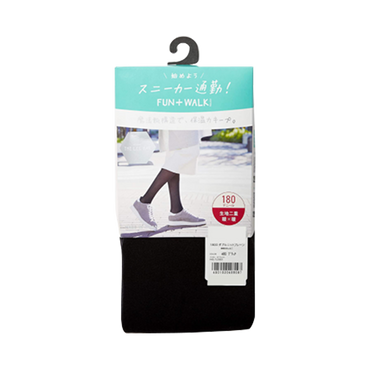 ATSUGI 厚木||BAR 双层针织素色保暖防静电尼龙裤袜||180D L-LL 1件