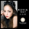 ReVIA 1Day Pale Mirage 10 pieces zero prescription