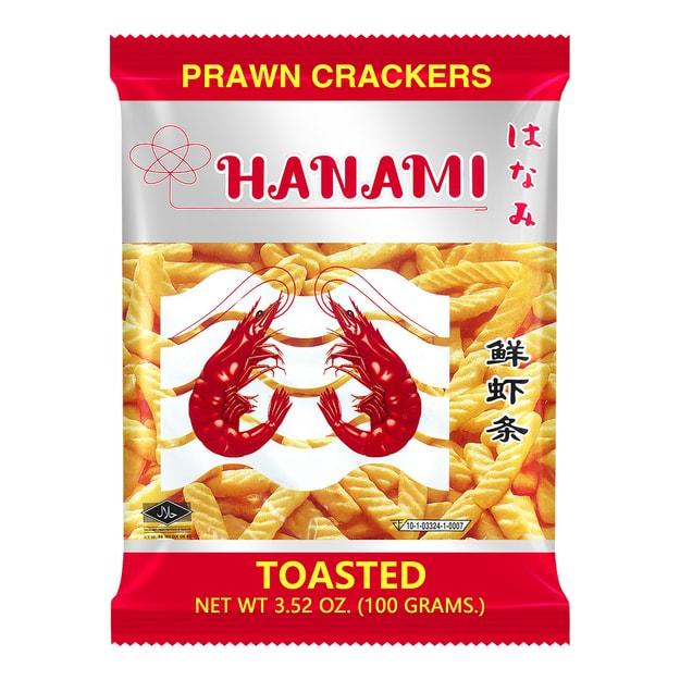 商品详情 - 泰国HANAMI卡乐美 鲜虾条 原味 100g - image  0