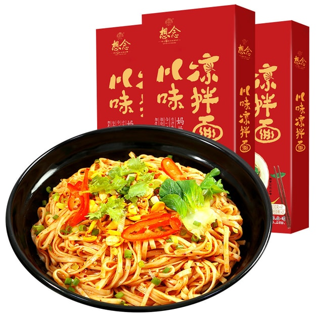 Product Detail - XIANGNIAN Sichuan Spicy Cold Noodles 318g - image  0