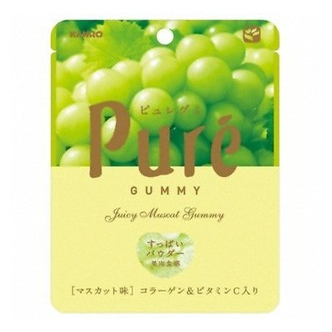 KANRO Pure Gummy Muscat 1.9oz