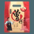 台湾曾 过海食味鲜本铺 非油炸 麻辣肉燥曾粉 干湿两吃 4包入 328g