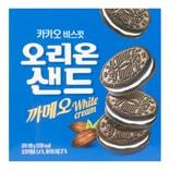 韩国ORION好丽友 巧克力白奶油饼干 198g