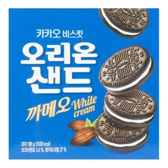 ORION Sand White Cream Cookies 198g