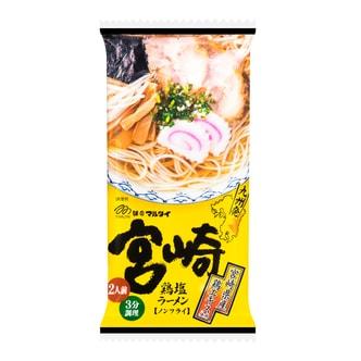 日本MARUTAI  宮崎鸡肉盐味拉面 2人份  212g