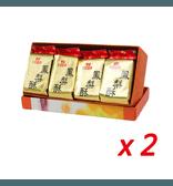 [台湾直邮] 台湾滋养轩原味经典凤梨酥 12包入(1包2块) x 2盒