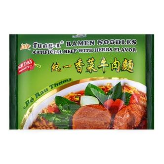 UNIF Ramen Noodles Artificial Beef With Herbs Flavor 85g