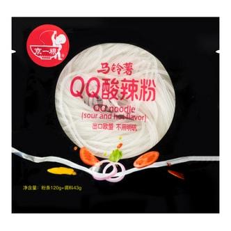 京一根 QQ酸辣粉 袋装 163g