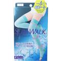 日本 SLIMWALK 强压力长筒凉感美腿纤瘦腿塑形袜 S-M 1pcs